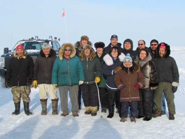 Minister Aglukkaq tours the Kitikmeot and Kivalliq regions
